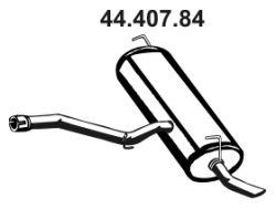 Esd 44.407.84 Nissan QASHQAI 2008