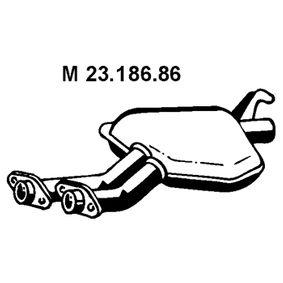 23.186.86 EBERSPÄCHER L: 800mm, Mitt Mittenljuddämpare 23.186.86 köp lågt pris