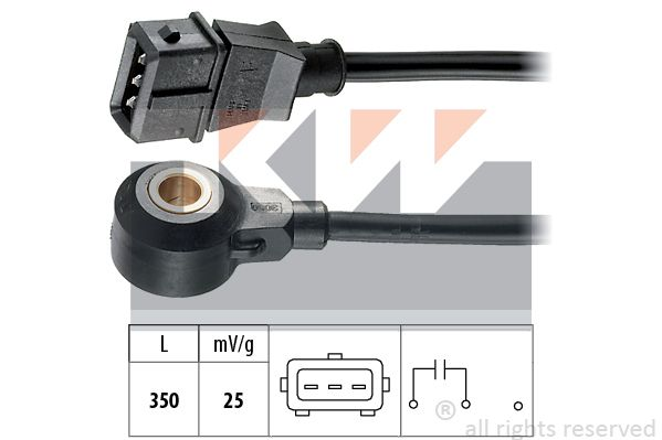 EPS1957050 KW Made in Italy - OE Equivalent Klopfsensor 457 050 günstig kaufen