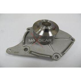MGC5505 MAXGEAR mit Dichtung Wasserpumpe 47-0038 günstig kaufen