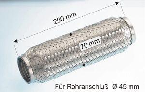 Flexrohr EBERSPÄCHER 99.010.79