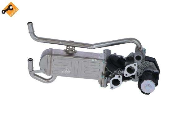 Volkswagen POLO 2015 Exhaust NRF 48215: with EGR valve, EASY FIT
