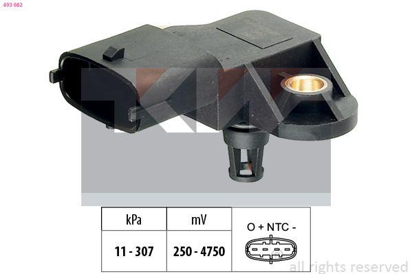 Sensor, Saugrohrdruck KW 493 082