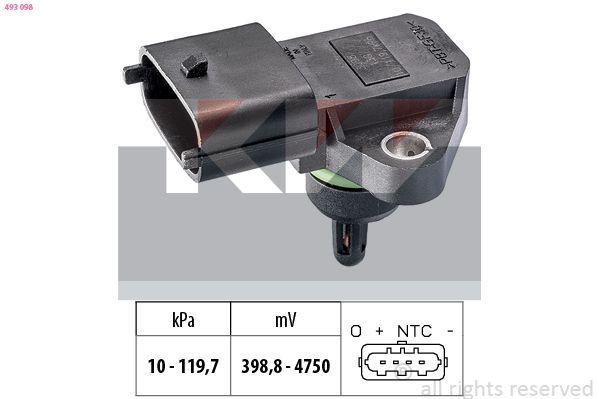 KW Sensor, Ladedruck 493 098