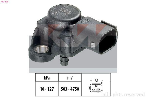 KW Sensor, Ladedruck 493 106