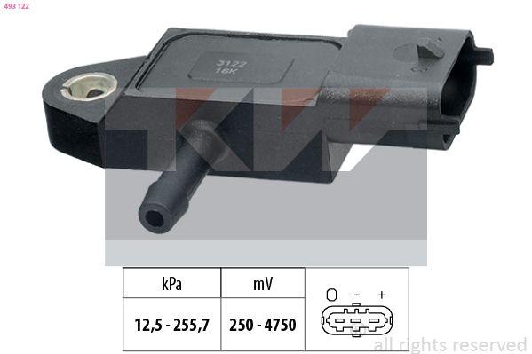 EPS1993122 KW Made in Italy - OE Equivalent Luftdrucksensor, Höhenanpassung 493 122 günstig kaufen