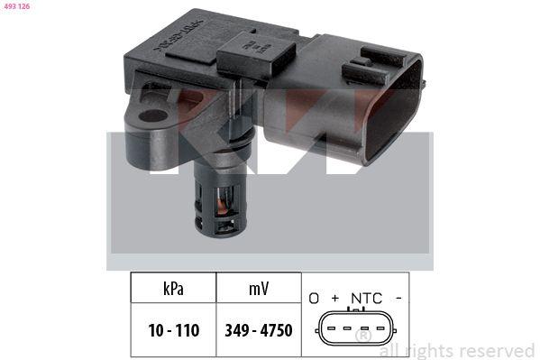 Sensor, Saugrohrdruck KW 493 126