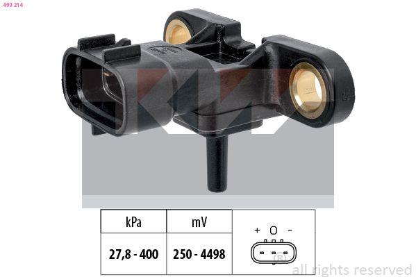 KW: Original Sensor, Saugrohrdruck 493 214 ()