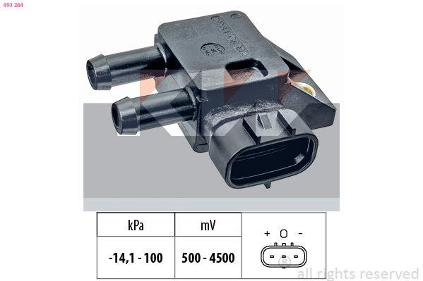 NISSAN PATHFINDER 2019 Sensor, Saugrohrdruck - Original KW 493 284
