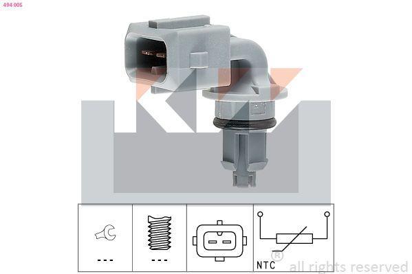 KW: Original Sensor, Ansauglufttemperatur 494 005 ()