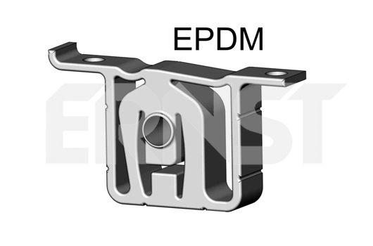 Volkswagen NEW BEETLE 2007 Holder exhaust pipe ERNST 497374: