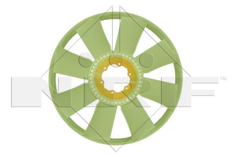 NRF Lüfterrad, Motorkühlung passend für MERCEDES-BENZ - Artikelnummer: 49805