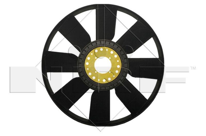 NRF Lüfterrad, Motorkühlung passend für MERCEDES-BENZ - Artikelnummer: 49807