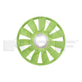 Lüfterrad, Motorkühlung NRF 49831 mit 15% Rabatt kaufen