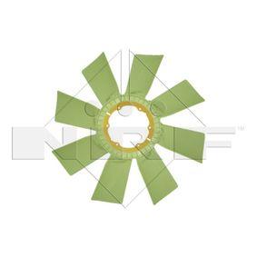 Lüfterrad, Motorkühlung NRF 49835 mit 15% Rabatt kaufen