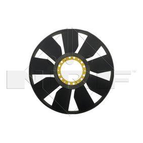 Lüfterrad, Motorkühlung NRF 49843 mit 15% Rabatt kaufen