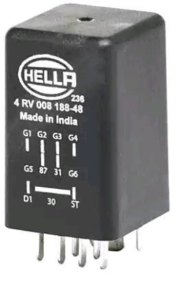 OE Original Glühzeitsteuergerät 4RV 008 188-481 HELLA