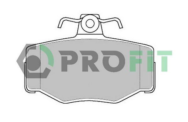 Bremsbelagsatz, Scheibenbremse PROFIT 5000-0707 Bewertungen