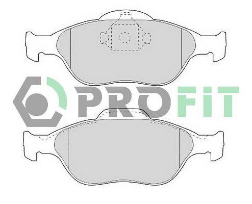 Bremsbelagsatz Scheibenbremse PROFIT 5000-1394