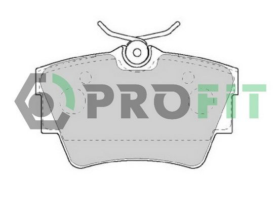 Scheibenbremsbeläge PROFIT 5000-1516