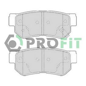 5000-1606 PROFIT Hinterachse Höhe: 41mm, Dicke/Stärke: 15mm Bremsbelagsatz, Scheibenbremse 5000-1606 günstig kaufen
