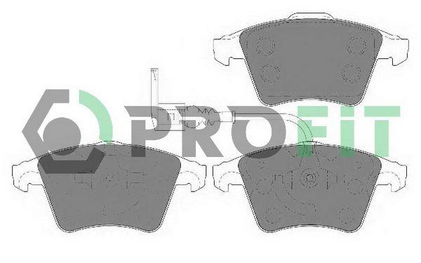 Bremsbelagsatz PROFIT 5000-1642