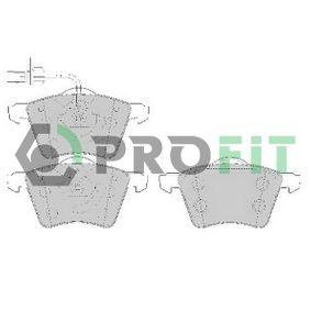 5000-1654 PROFIT Vorderachse, mit integriertem Verschleißsensor Höhe: 78,9mm, Dicke/Stärke: 18,9mm Bremsbelagsatz, Scheibenbremse 5000-1654 günstig kaufen