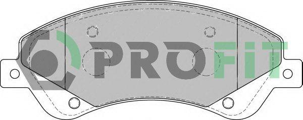 Bremsbelagsatz PROFIT 5000-1929