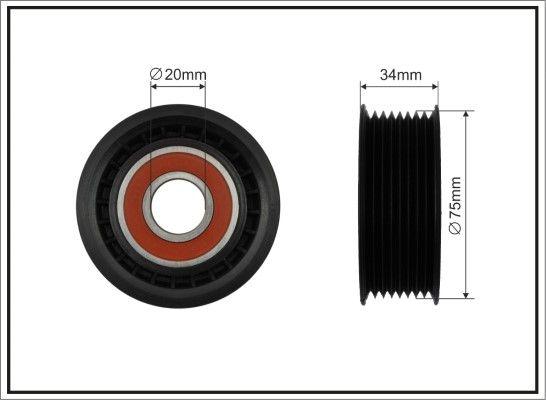 CAFFARO Strammehjul, kilerem til RENAULT TRUCKS - vare number: 500121