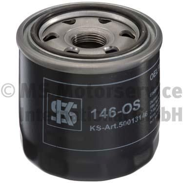 146OS KOLBENSCHMIDT Anschraubfilter, mit einem Rücklaufsperrventil Innendurchmesser 2: 56mm, Außendurchmesser 2: 62,5mm, Höhe: 79mm Ölfilter 50013146 günstig kaufen