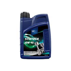 50028 VATOIL SynTech 10W-40, 1l, Delsyntetolja Motorolja 50028 köp lågt pris
