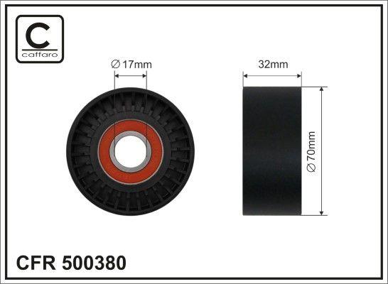 BMW 2er 2018 Spannrolle - Original CAFFARO 500380 Breite: 32mm