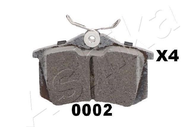 51-00-00002 Bremsbelagsatz ASHIKA - Markenprodukte billig