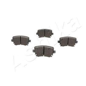 510000007 Bremsbelagsatz, Scheibenbremse ASHIKA 51-00-00007 - Große Auswahl - stark reduziert