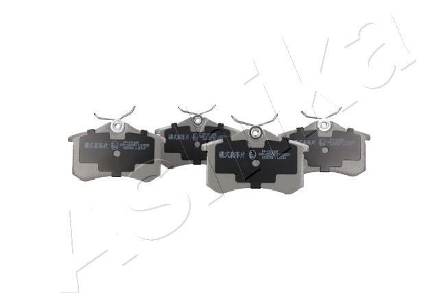 51-00-00018 ASHIKA Hinterachse Breite: 53mm, Dicke/Stärke: 17mm Bremsbelagsatz, Scheibenbremse 51-00-00018 günstig kaufen