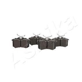 510000018 Bremsbeläge ASHIKA 51-00-00018 - Große Auswahl - stark reduziert