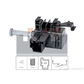 EPS1810236 KW Made in Italy - OE Equivalent Schalter, Kupplungsbetätigung (GRA) 510 236 günstig kaufen