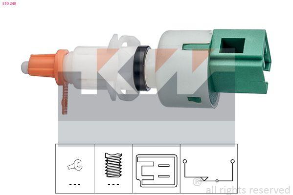 EPS1810249 KW Made in Italy - OE Equivalent Schalter, Kupplungsbetätigung (GRA) 510 249 günstig kaufen