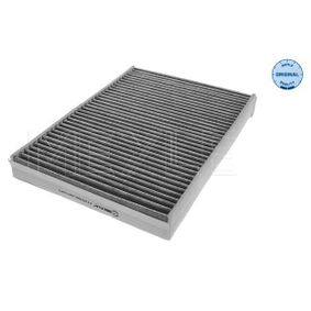 MCF0378 MEYLE Aktivkohlefilter, Filtereinsatz, MEYLE-ORIGINAL Quality Breite: 194mm, Höhe: 34mm, Länge: 275mm Filter, Innenraumluft 512 320 0006 günstig kaufen