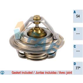 5200377 FAE Öffnungstemperatur: 77°C, mit Dichtungen Thermostat, Kühlmittel 5200377 günstig kaufen