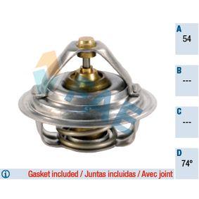Ostaa 5201074 FAE Avauslämpötila: 74°C, Tiivisteillä Termostaatti, jäähdytysneste 5201074 edullisesti