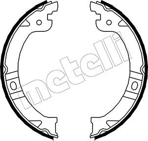 Handbremse METELLI 53-0027