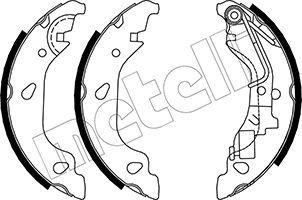 Original FIAT Bremsbackensatz für Trommelbremse 53-0080Y