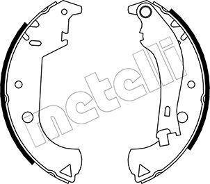 Original FIAT Bremsbackensatz 53-0081Y