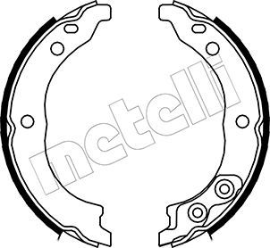 Handbremse METELLI 53-0089