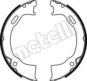 Handbremse METELLI 53-0146