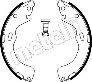 METELLI: Original Trommelbremsen set 53-0216 (Breite: 42mm)