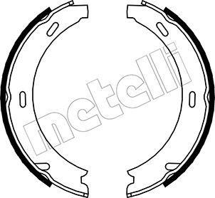 47450 METELLI Ø: 164,0mm, Breite: 20mm, Ø: 164,0mm Bremsbackensatz, Feststellbremse 53-0233 günstig kaufen