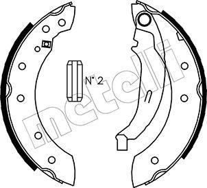Original TALBOT Bremsbackensatz 53-0350
