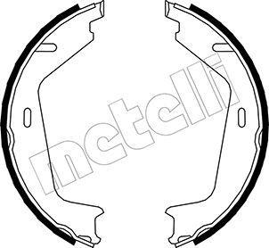 S829 METELLI Ø: 177,8mm, Breite: 25mm, Ø: 177,8mm Bremsbackensatz, Feststellbremse 53-0479 günstig kaufen